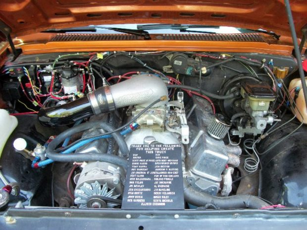 Chevy S-10 with a turbo V8