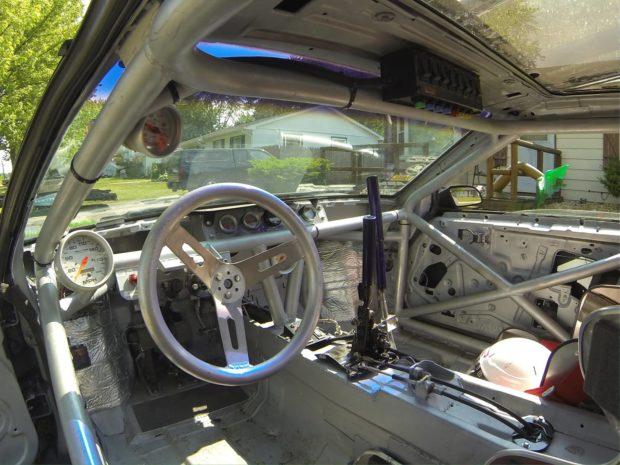 Custom Widebody 1986 Pontiac Fiero with a Turbo 4G63