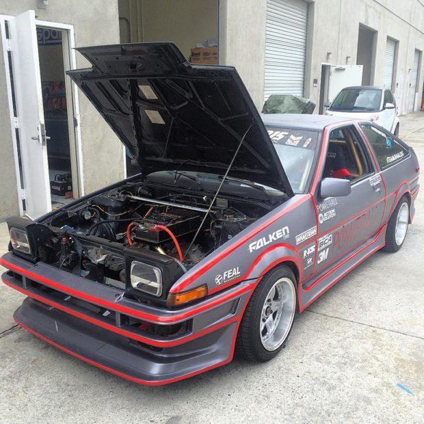 Toyota Ae86 With An Electric Motor Engineswapdepot Com