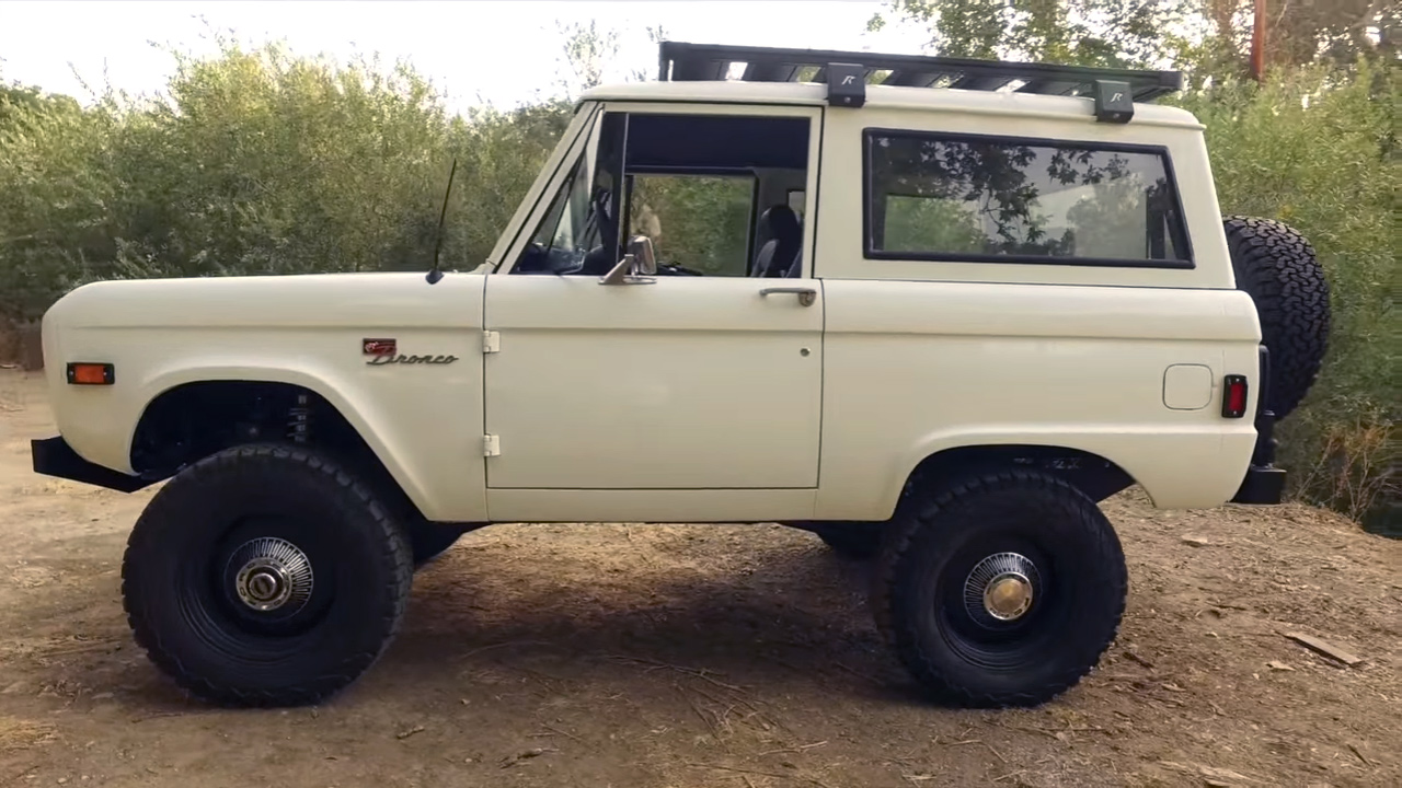 Icon 1977 Bronco With A Coyote V8 Engine Swap Depot
