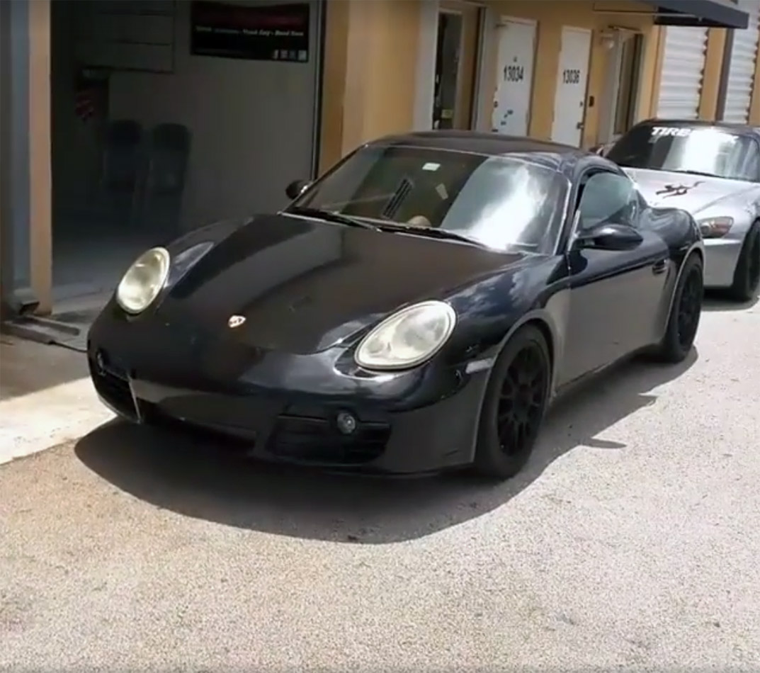Porsche Cayman With A Coyote V8 Engine Swap Depot