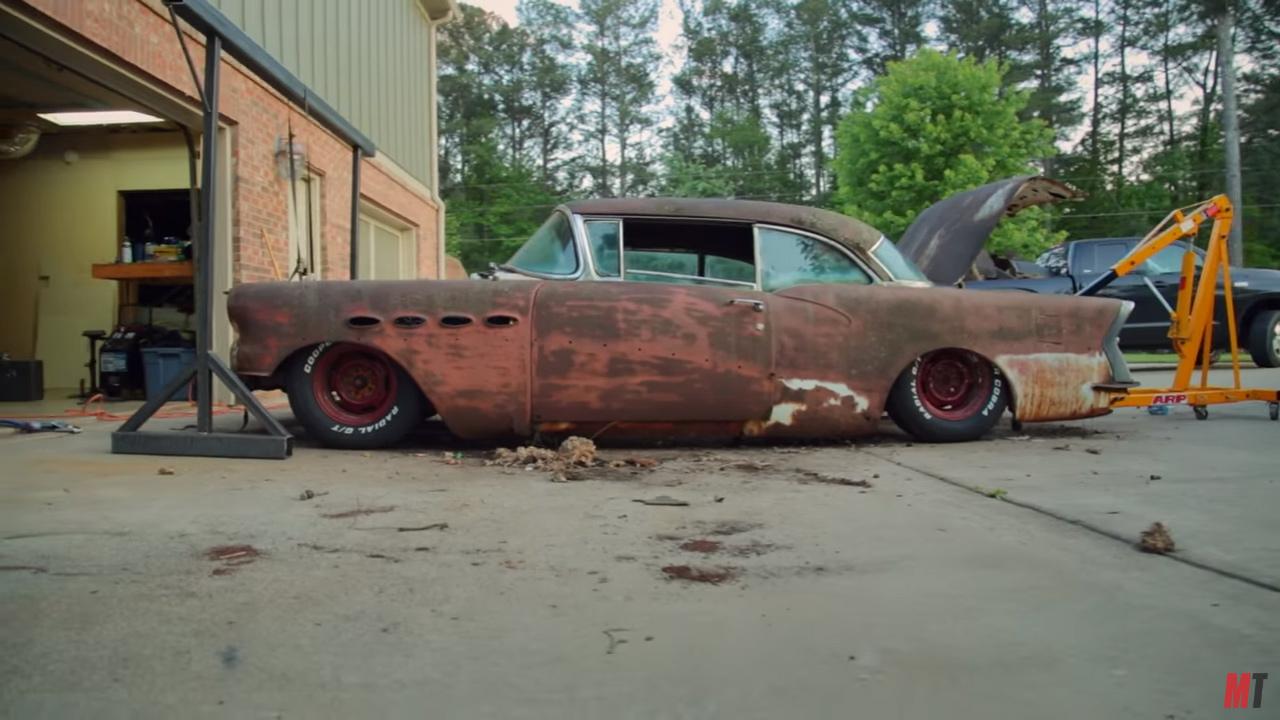 Roadkill Wraps A 1956 Buick Around C3 Corvette Chis