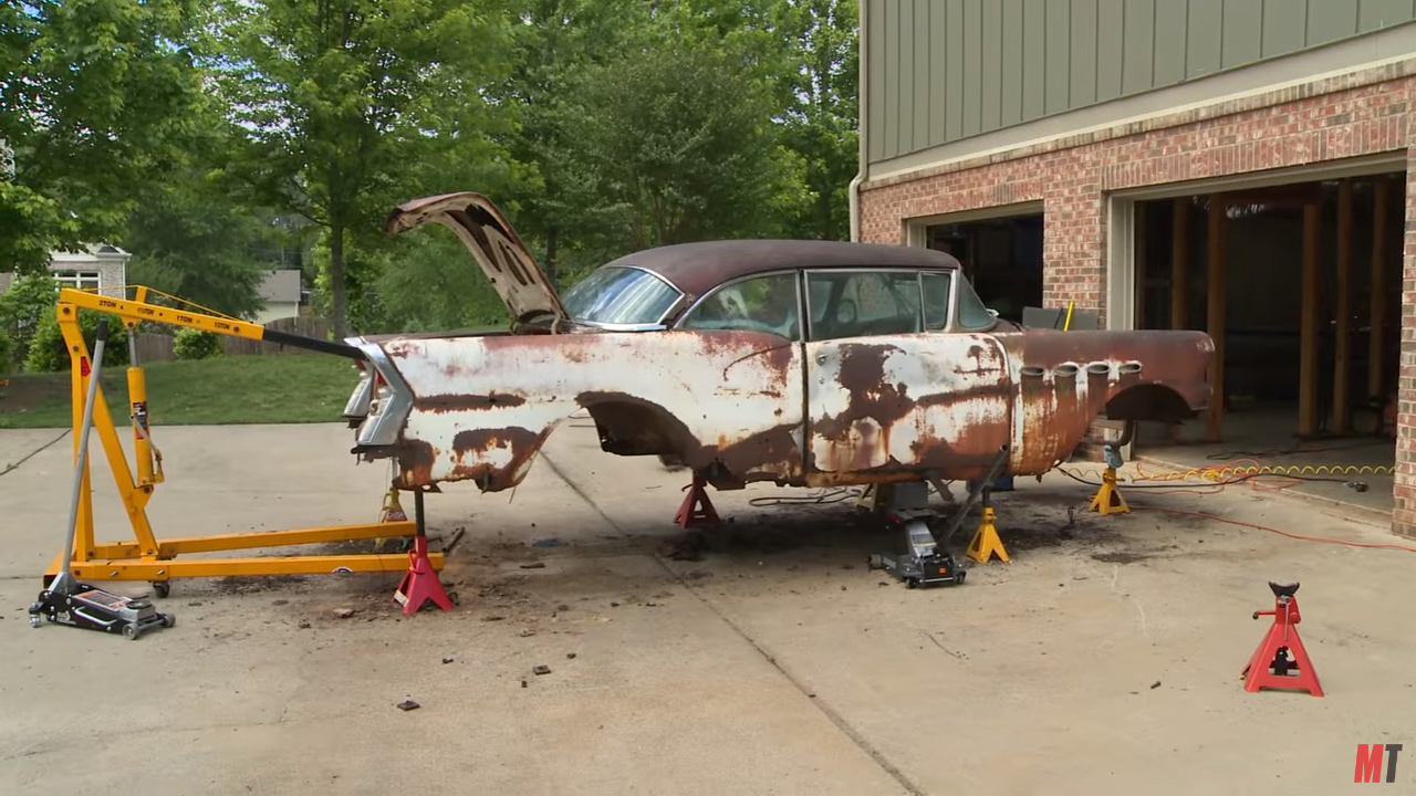 Roadkill Wraps A 1956 Buick Around A C3 Corvette Chassis