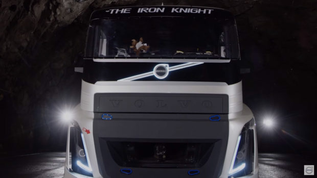 Volvo Iron Knight with a quad-turbo D13 inline-six diesel