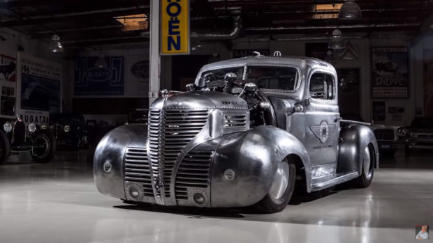1939 Plymouth Radial Air Truck at Jay Leno Garage