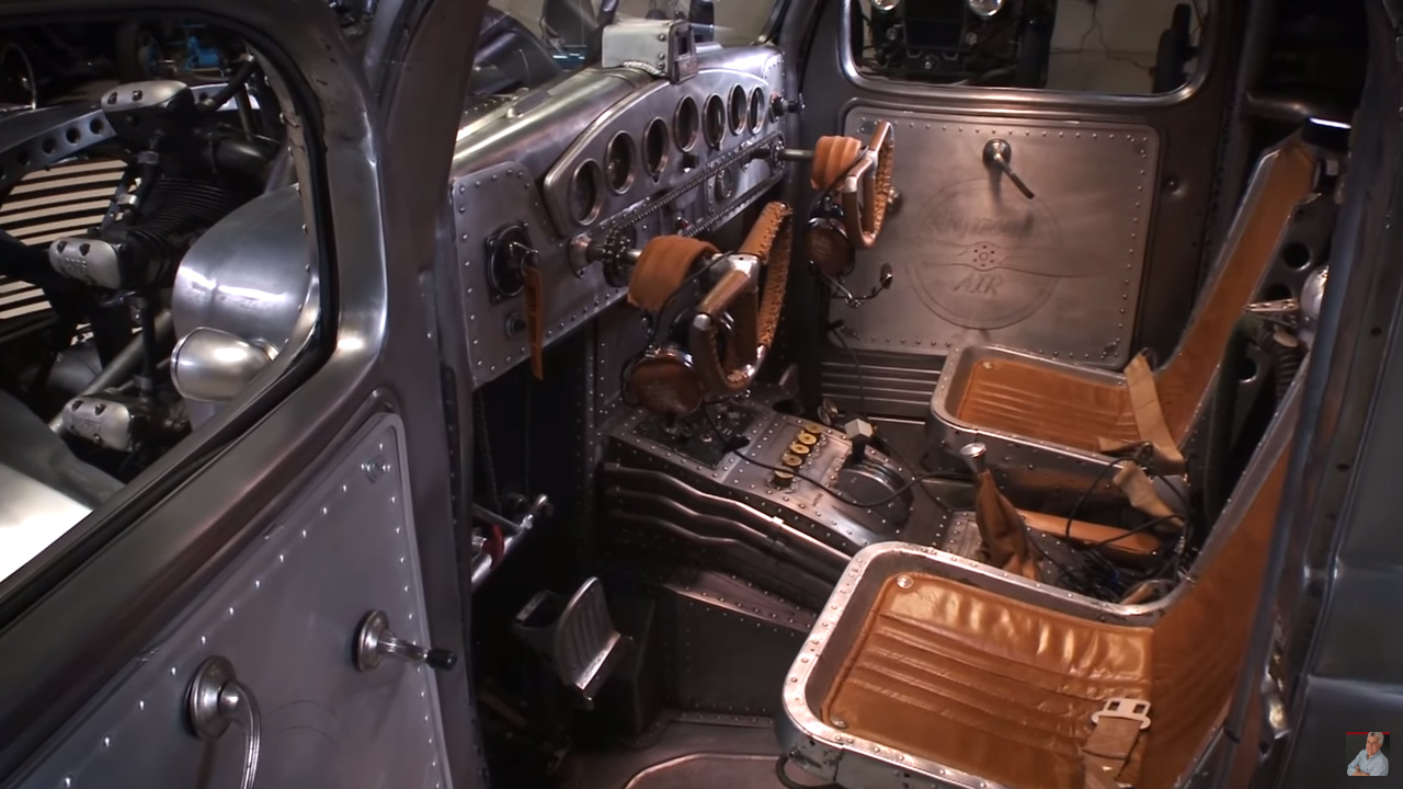 The 1939 Plymouth Radial Air Truck Visits Jay Leno S