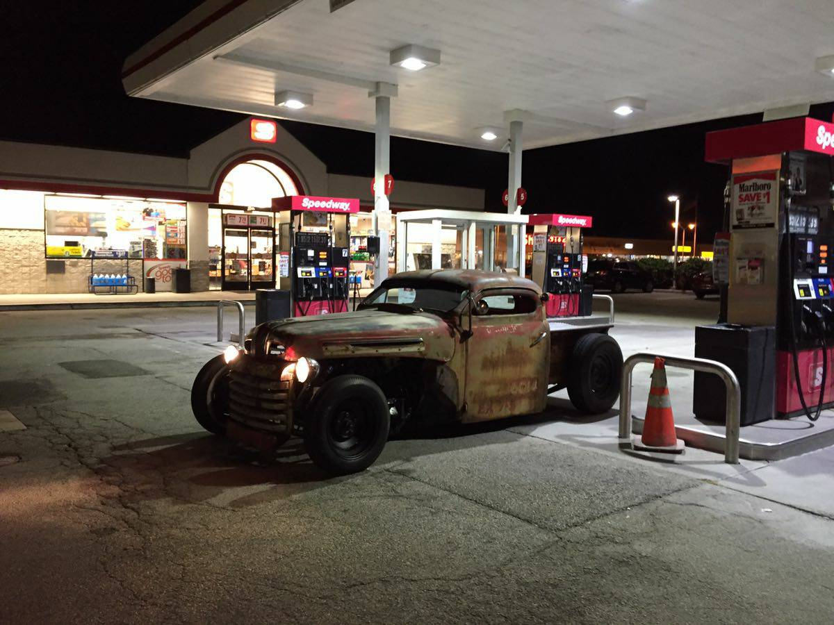 Ford Rat Rod With A Twin Turbo Jz Gte