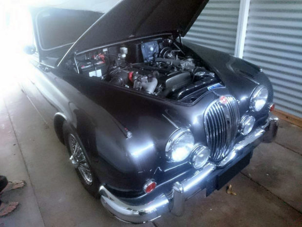 1964 Jaguar Mark 2 with a 2JZ-GTE