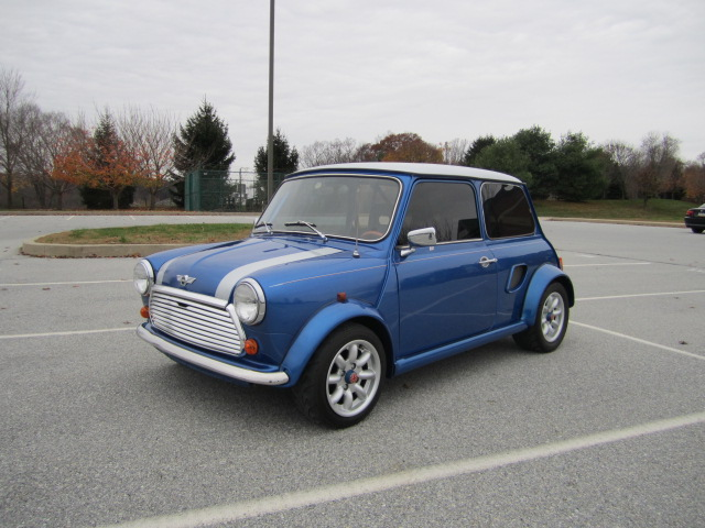 1970 Mini Cooper With A Mid Engine Turbo Honda B18 Inline Four