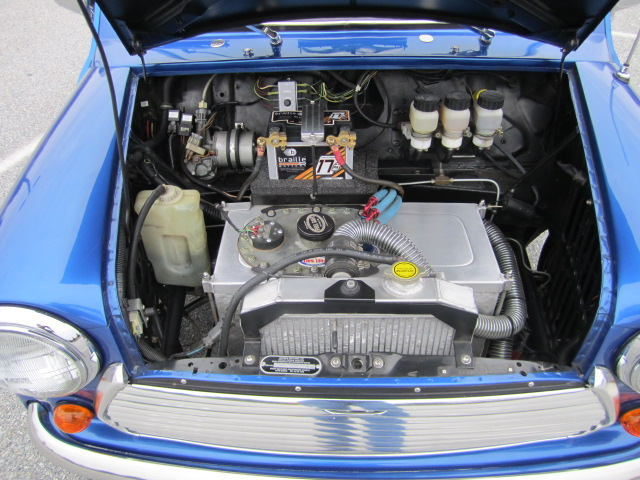 For Sale: Mini Cooper with a Mid-Engine Turbo B18 – Engine