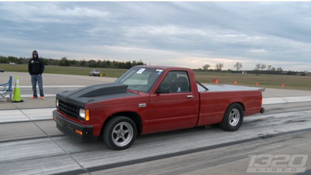 1988 Chevy S10 with a turbo 403 ci LSx V8