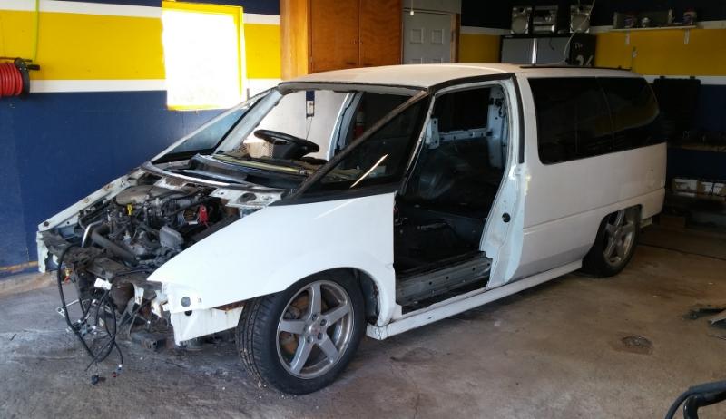 Chevy Lumina Apv Minivan On A Pontiac G Chassis