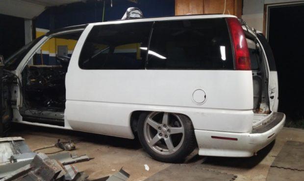 1996 Chevy Lumina APV minivan on a Pontiac G6 chassis
