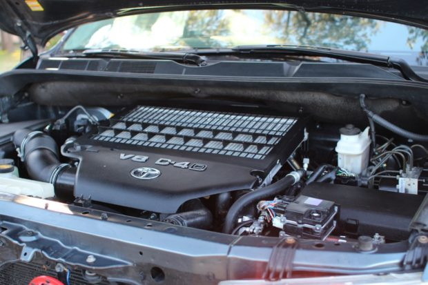 2010 Toyota Tundra With A Twin Turbo Diesel V8 Engine