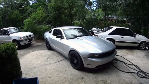 swapping a 3 5 l ecoboost into a 2012 mustang first start engine swap depot. Black Bedroom Furniture Sets. Home Design Ideas