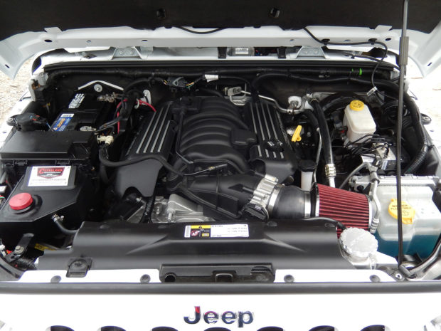 2013 Jeep Wrangler Rubicon with a 6.4 L 392 HEMI V8