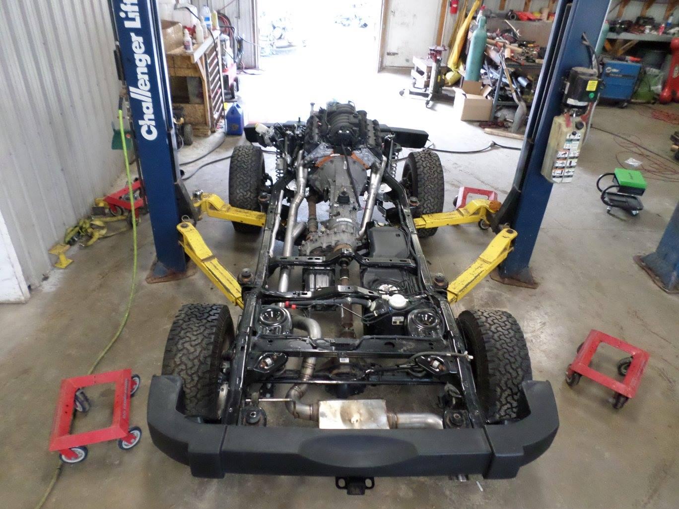 Jeep Wrangler Hemi >> Jeep Rubicon with a HEMI V8 – Engine Swap Depot