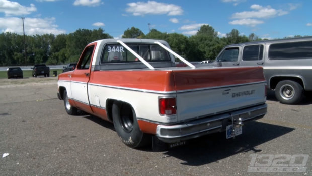 Chevy C-10 with a twin-turbo 24v Cummins inline-six