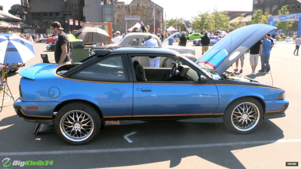 Chevy Cavalier with twin 3.4 L V6 engines