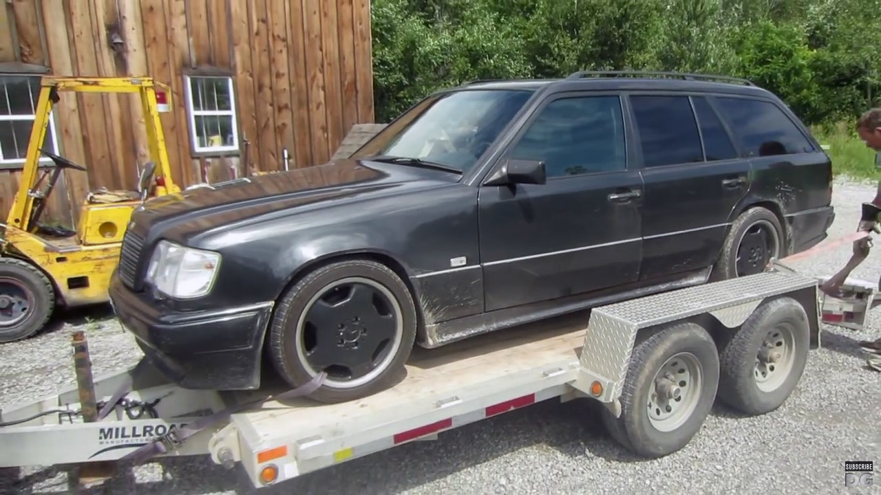 1994 mercedes wagon with a turbo lsx part 1 engine swap depot 1994 mercedes wagon with a turbo lsx