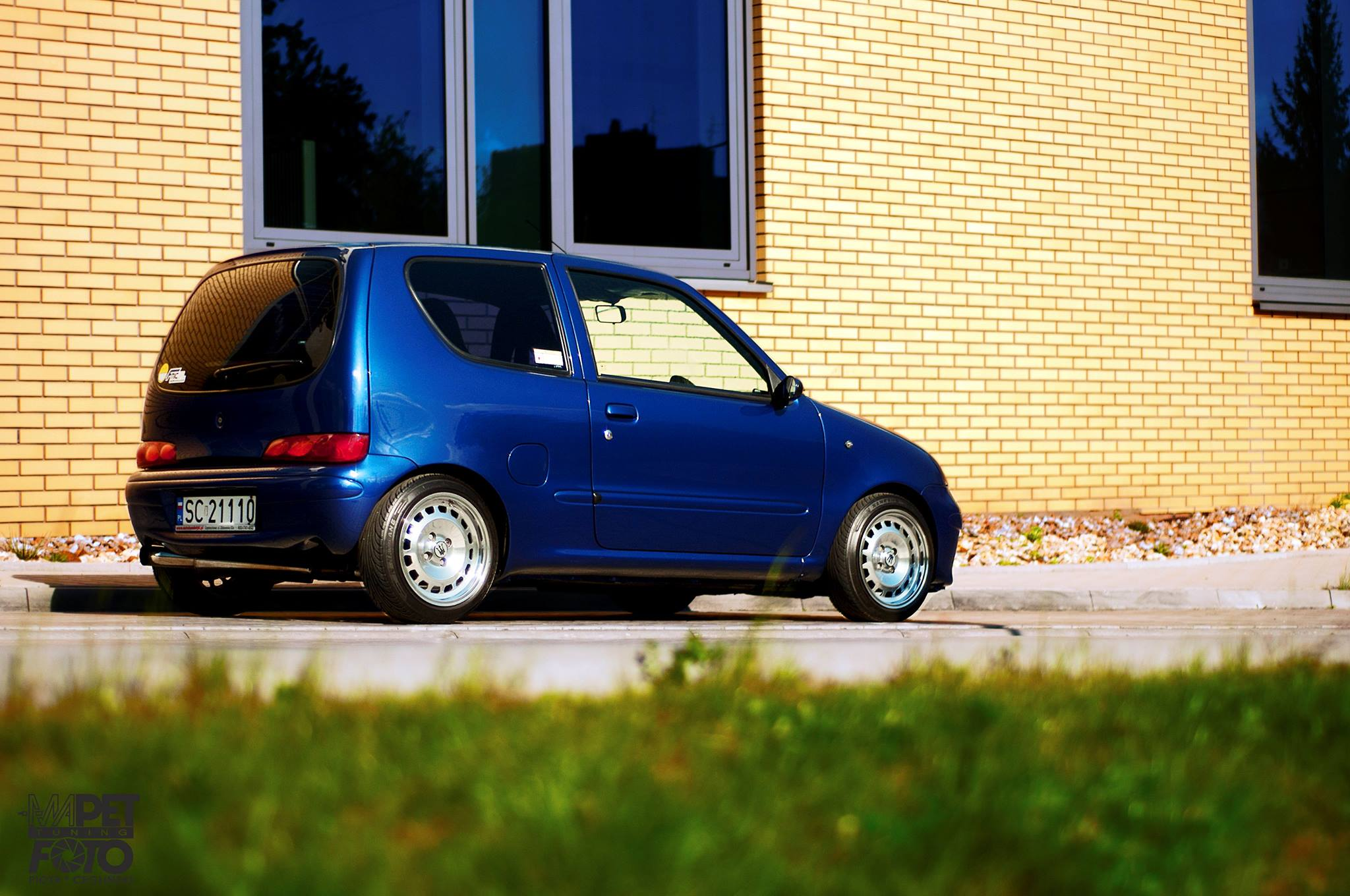fiat seicento with a 490 hp abarth engine engine swap depot. Black Bedroom Furniture Sets. Home Design Ideas