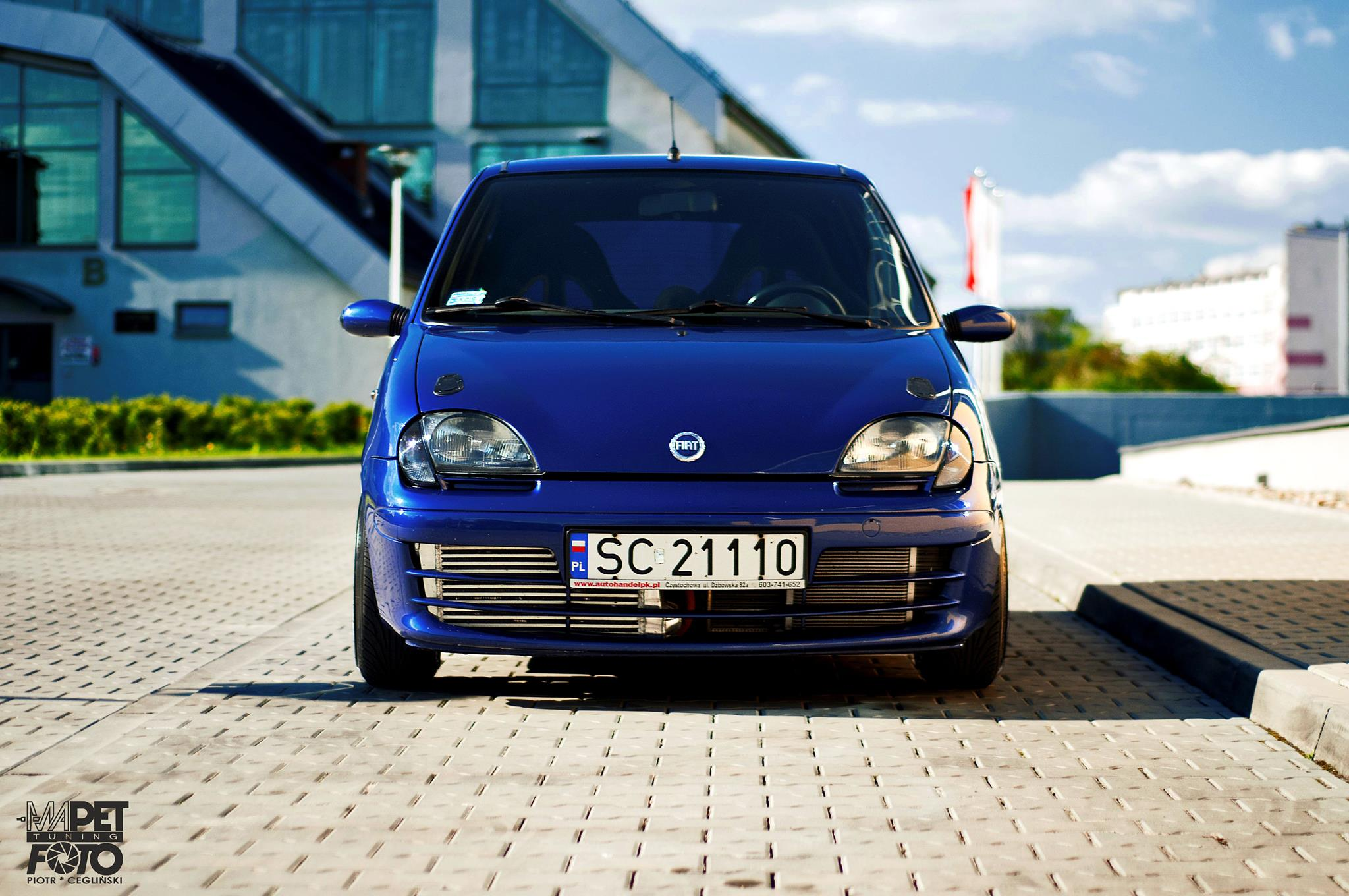 Fiat Seicento With A Turbo L T Jet Abarth Engine