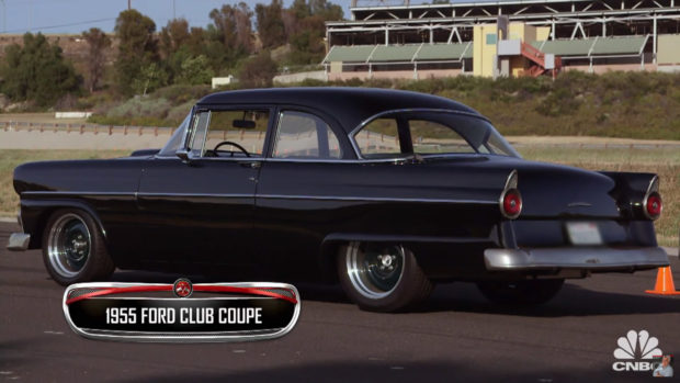 1955 Ford Club Coupe with a supercharged 5.4 L V8 from a Ford GT