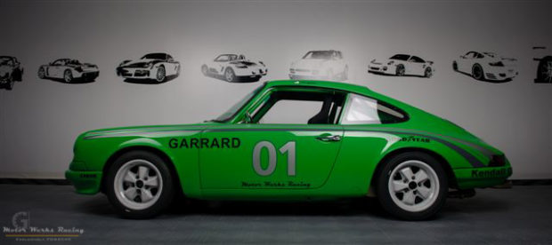 Motor Werks Racing Porsche 911 Garrard Record Player Tribute