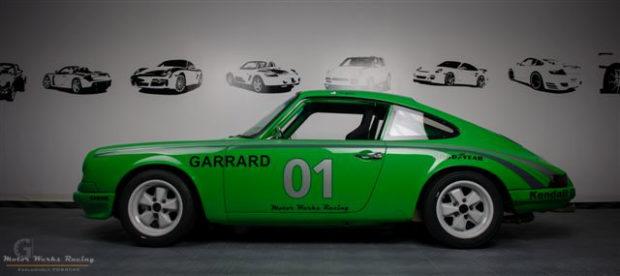 Motor Werks Racing Porsche 911 Garrard Record Player Tribute