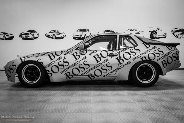 Motor Werks Racing Porsche 924 Carrera GT BOSS Tribute