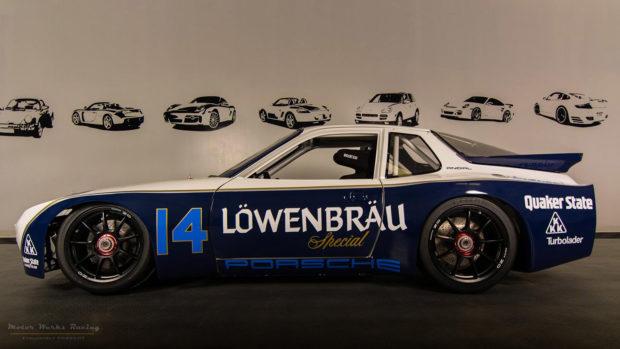 Motor Werks Racing Porsche 924 GTP Lowenbrau Tribute