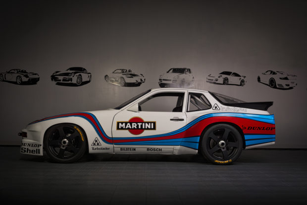 Motor Werks Racing Porsche 924 GTR Martini Tribute
