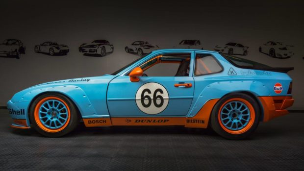 Motor Werks Racing Porsche 944 Gulf Tribute