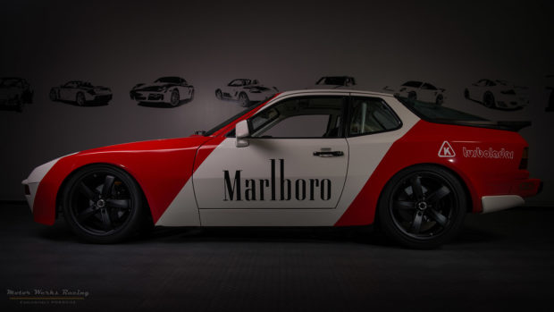 Motor Werks Racing Porsche 944 Turbo Marlboro Tribute