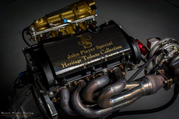 Porsche 924 GTP John Player Special Tribute with a Audi 1.8 L Turbo 20v inline-four