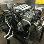 4.2 L Audi ABZ V8 with Porsche transaxle