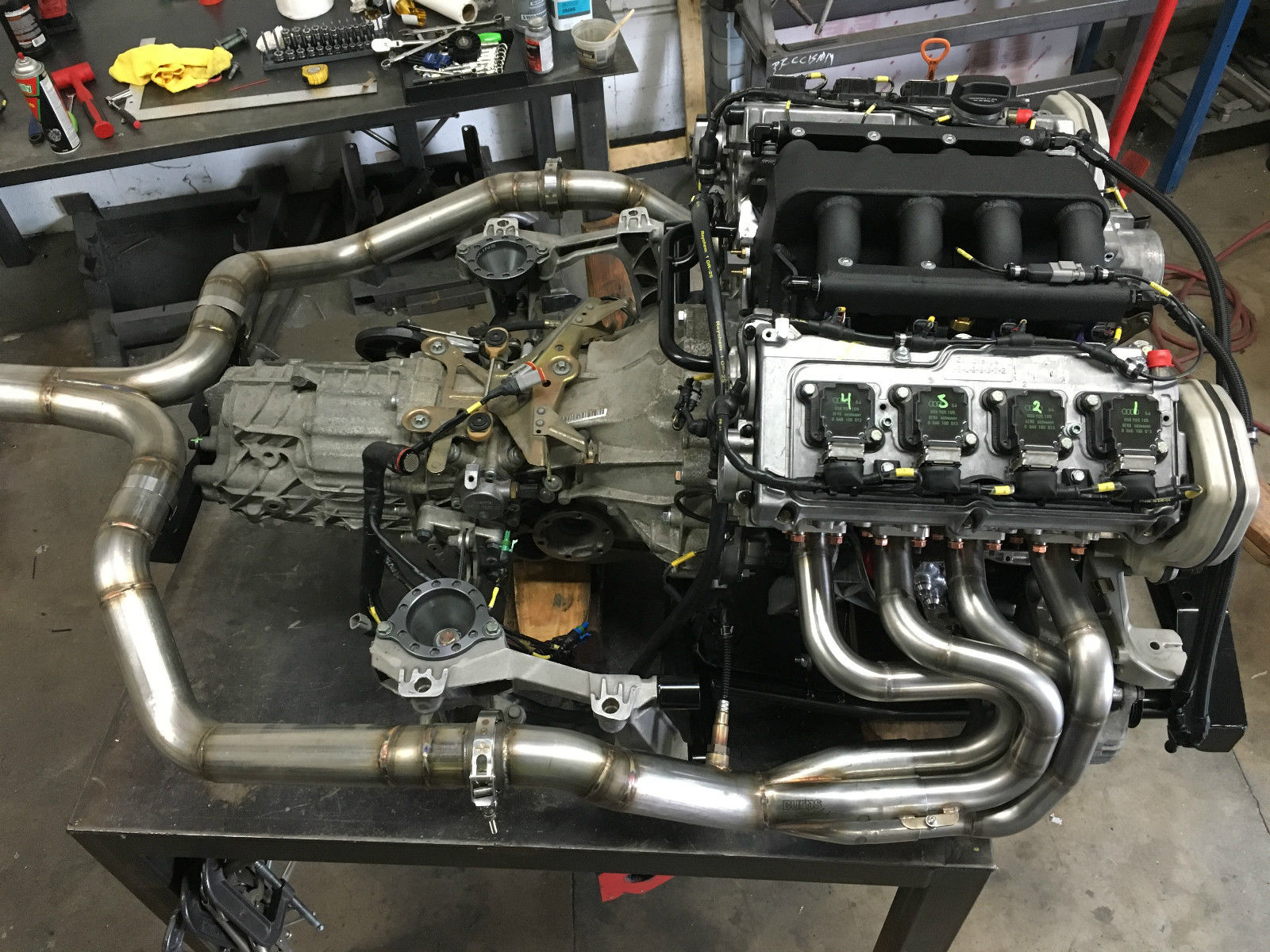 Porsche Boxster With An Audi V8 Engine Swap Depot