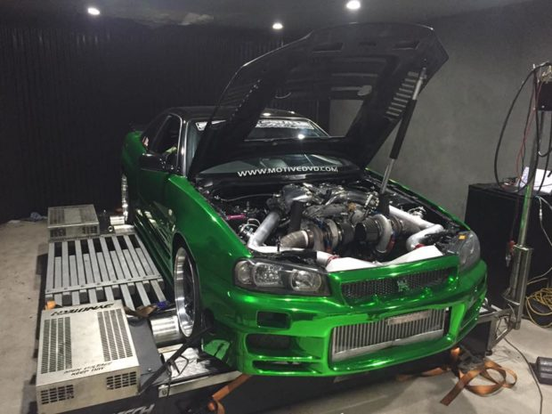 Project Erubisu R34 Skyline with a VR38DETT - Part 7