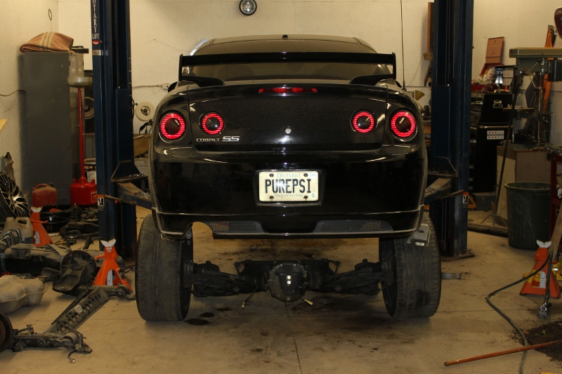 RWD Chevy Cobalt with a LS2 – Engine Swap Depot
