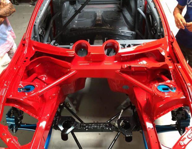 Ryan Tuerck Toyota GT86 with a Ferrari F136 V8