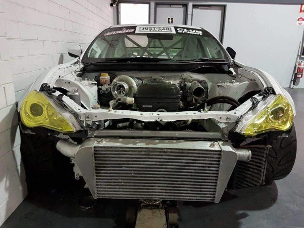 Subaru BRZ with a 2JZ inline-six
