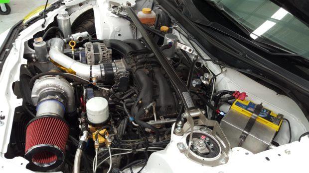 Subaru BRZ with a turbo FA20