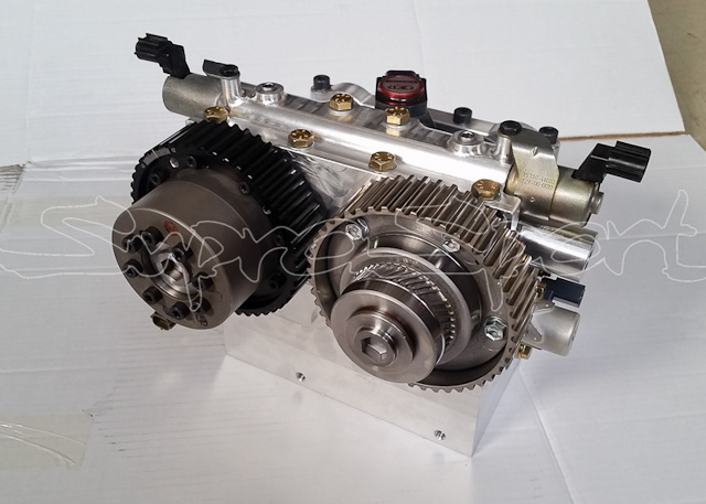 Billet 2JZ Head Combines the Best From Dual VVT-i and VTEC