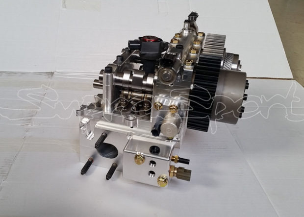 Billet 2JZ Head Combines the Best From Dual VVT-i and VTEC – Engine