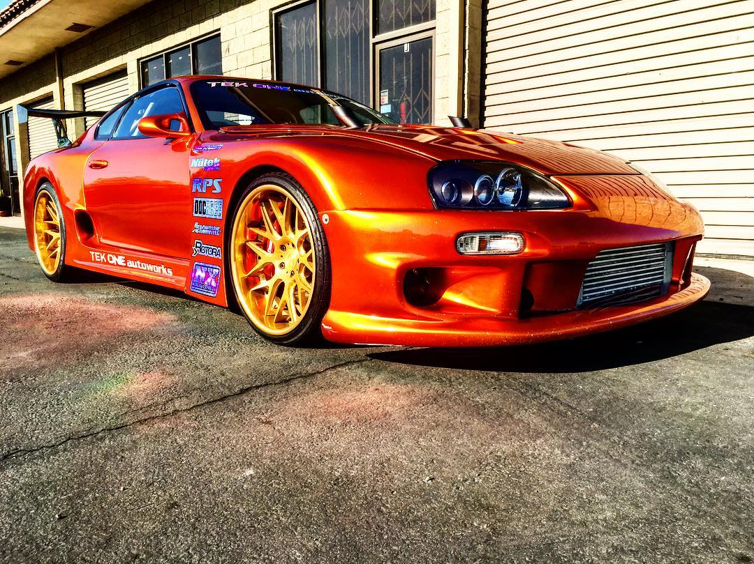 Toyota Supra With A Twin Turbo V12 Engine Swap Depot