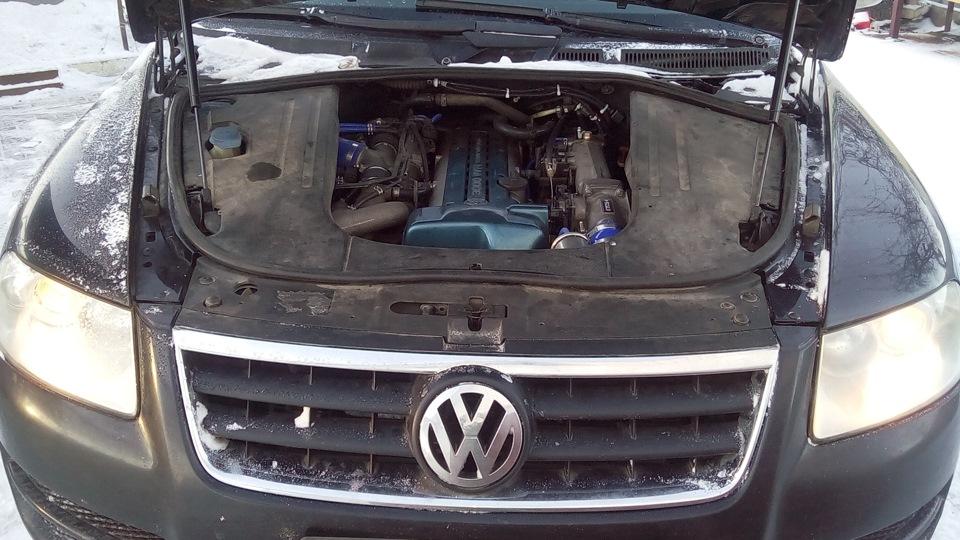 VW Touareg with a 2JZGTE  Engine Swap Depot