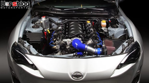 Vorshlag LSx swap kit for Scion FRS and Subaru BRZ