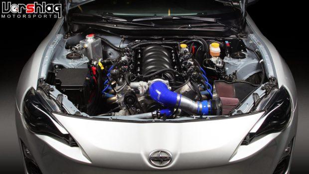 Vorshlag LSx swap kit for Scion FRS and Subaru BRZ