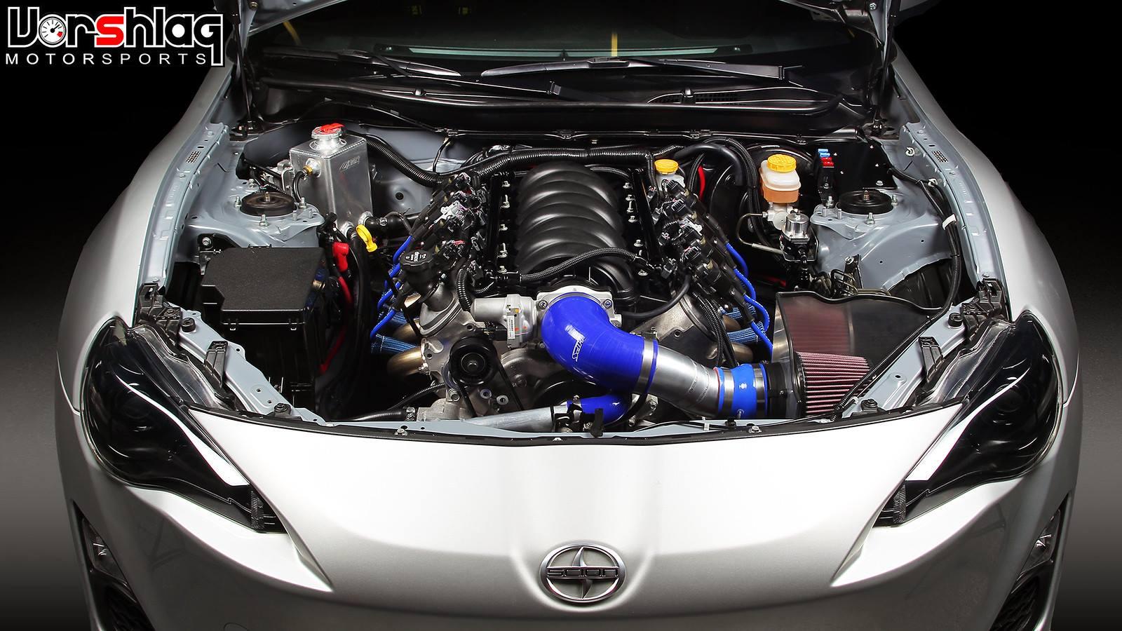 Vorshlag LSx Swap Kit for Scion FRS Subaru BRZ 02 vorshlag lsx swap kit for frs brz engine swap depot