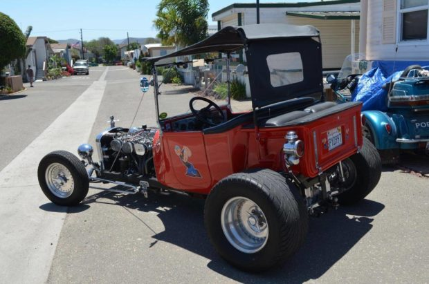 1923 Dodge Pickup Hot Rod with a Nissan L-series Inline-six